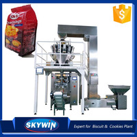 CE certificated Automatic Weighing Biscuit Packaging Machine