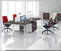 Modern cubicle office partition furniture/ modular office workstation,office desk modern wood table furniture