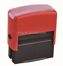 Plastic Self inking Stamp flash pre inking photosensitive pad foam