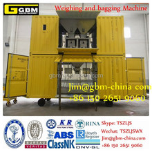 port hopper for bulk cargo Dockside Hopper Mobile weighting bagging machine