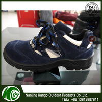 Dual color injection sole steel toe liberty force safty shoes for workshop