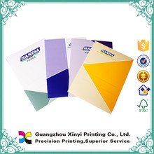 2016 new style glossy lamination full colors folding expanding file folder