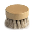 High quality bamboo design pure boar bristle beard brush with factory price