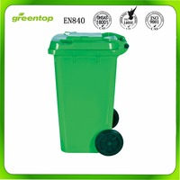 Open Top Structure and Eco-Friendly Feature 240L plastic waste container