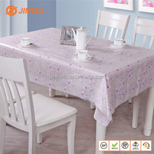 Double side printed sheets three-dimensional table cover