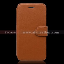for Leather Iphone 7 Case Wallet with Three Card Slots
