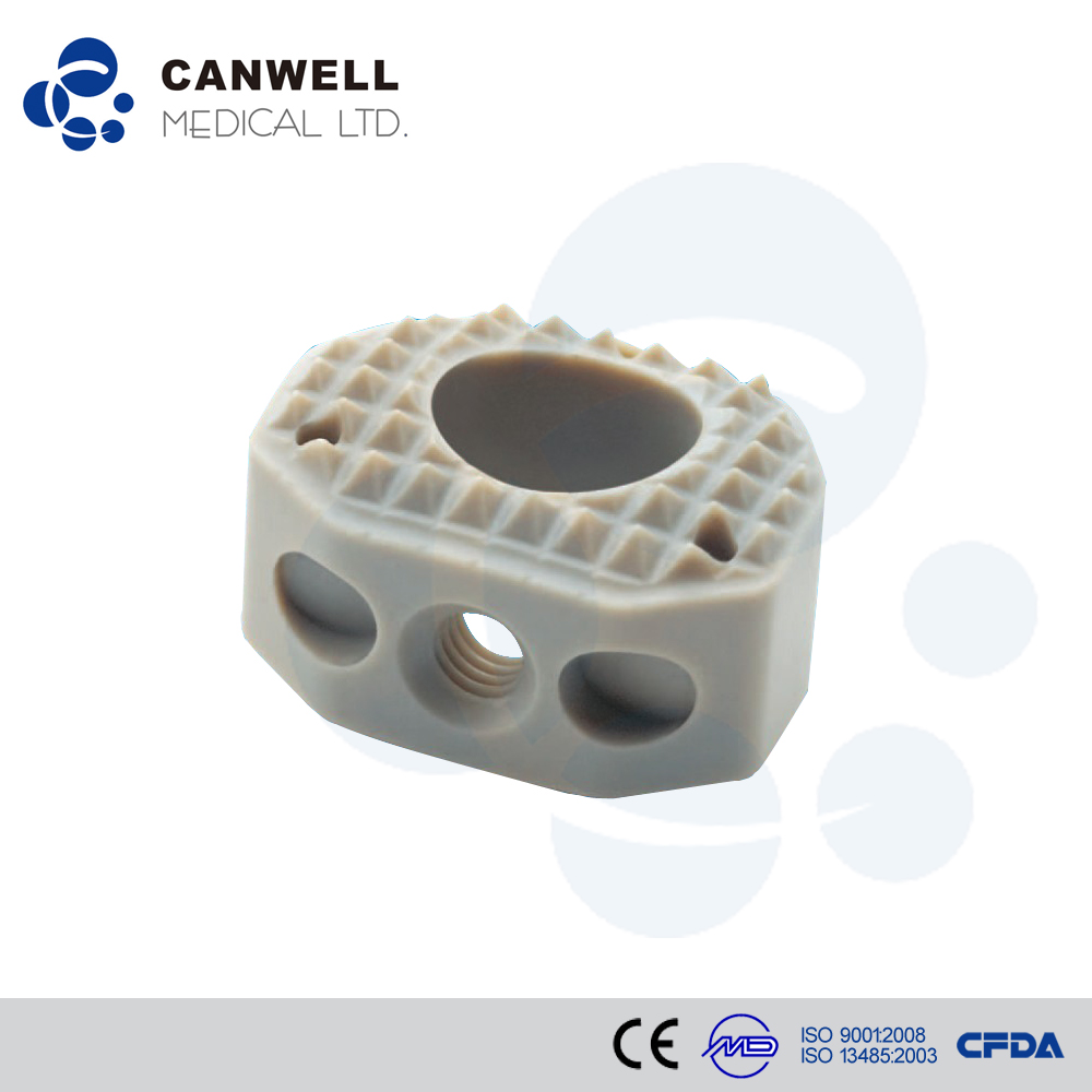 Spinal surgical instrument Anterior Cervical peek fusion Cage names of medical instruments