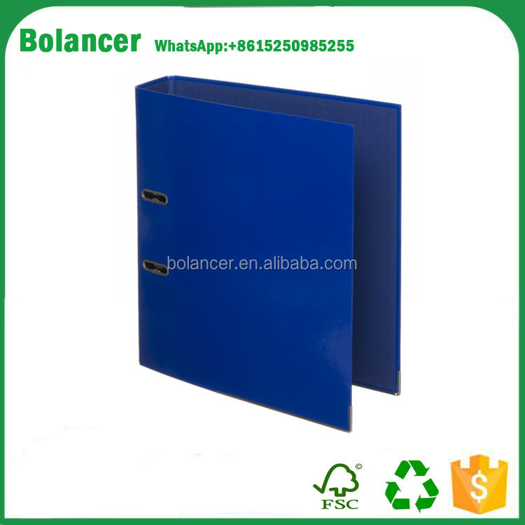 Royal Blue A4 Board PVC Cover Lever Arch File