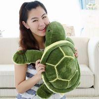 1pc 35cm Plush Tortoise Toy Cute Turtle Plush Pillow Staffed Cushion for Girls Vanlentine's Day Gift