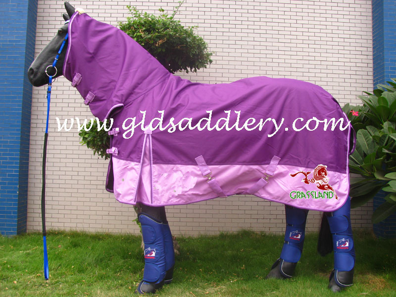 Ripstop pink combo 600D horse rug