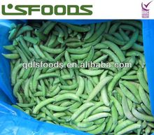 Chin new crop high quality frozen IQF sugar snap peas