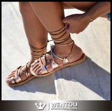 Wholesale Women Lace Up Sandals