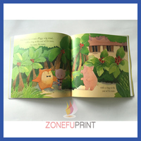 Printing Uncoated Paper Colouring Kids Learning Book