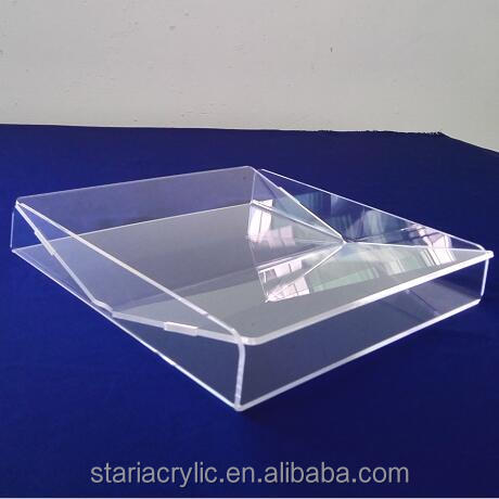 Wholesale Premium Crystal Clear Acrylic Coin Cash Trays