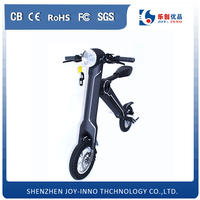 new product mini folding pocket bike two wheel electric foldable scooter with bluetooth speaker and USB charging port