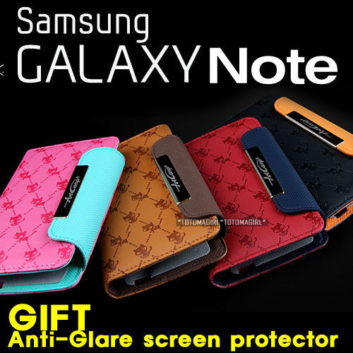 Samsung Galaxy Note i9220 GT-N7000 Neo PU Leather Wallet Phone Case