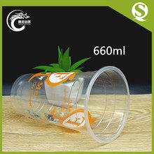 Cold drinking Plastic cup with dome lid