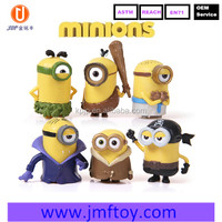 New brand Creative band despicable me minion 3 plastic toy 3 style wholesale
