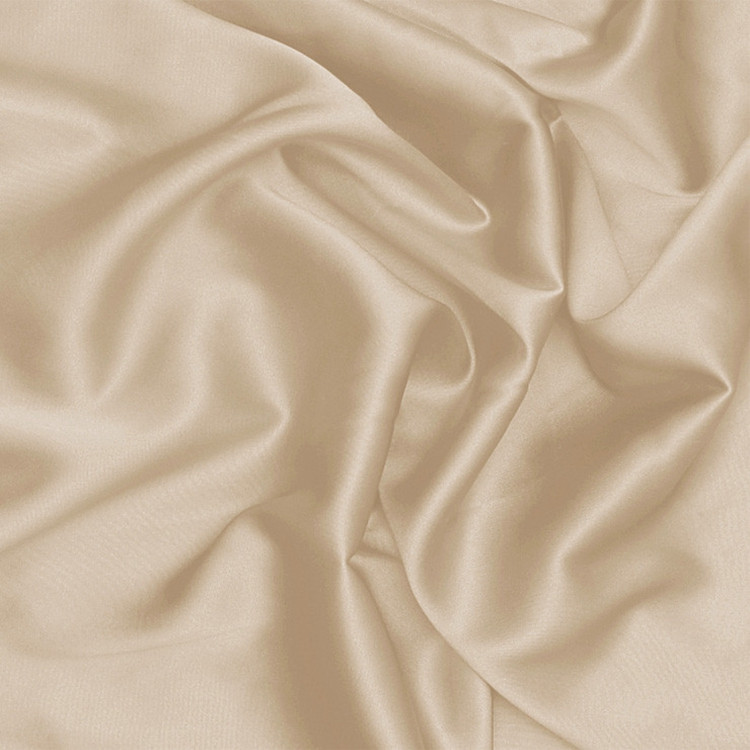 100% Charmeuse Nice Embroidered Satin Silk Craft Fabric