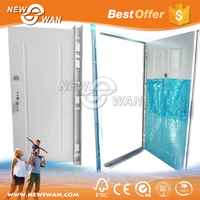 Front Safety Door Design / Entrance Metal Door / Double Exterior Door