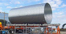 High quality Large Diameter Corrugated Steel Pipe