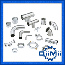 3A SUS 316L 304 Fittings Sanitary Stainless Steel Pipe Fittings