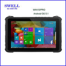 solar powered Rugged 10inch IP65 sim card military grade cell tablet fingerprint scanner tablet pc SWELL I12 the tablet