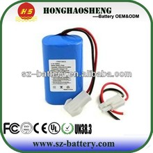 High Capacity top selling 2s1p 7.4v 2200mah li ion battery pack