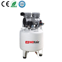 Chinese Supplier No Noise Free Standing Mini Oil Free Air Compressor 220V