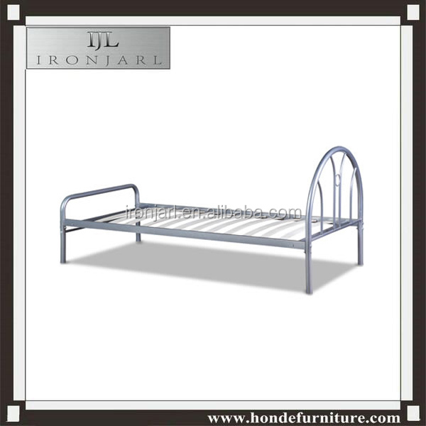 metal single cot bed size single steel bed designs