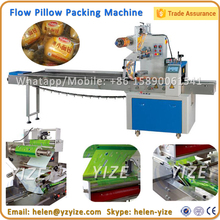 Horizontal Pillow Flow Automatic Chocolate and Ice Lolly Packing Machine