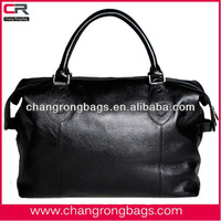 2014 top quality classic genuine leather travel bag for men