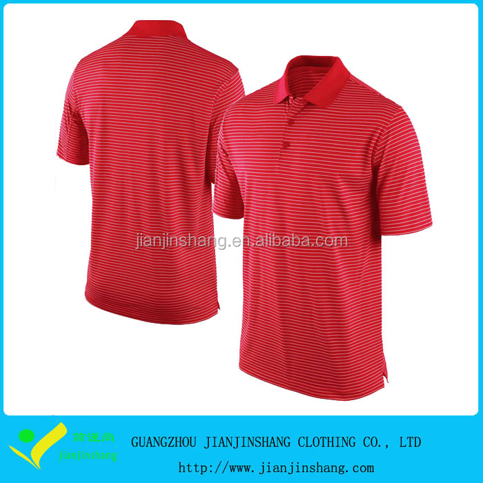 New Design Dry Fit golf t shirt man golf shirt with embroidery logo for sale
