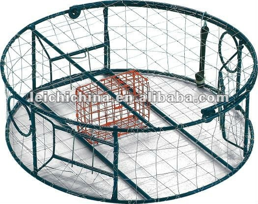 Round Stainless steel crab pot traps