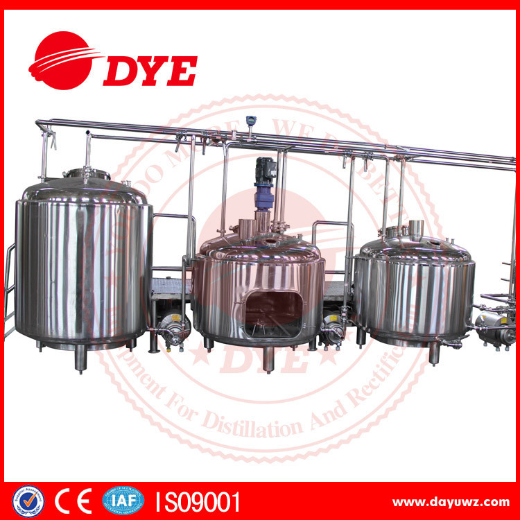 100L/day pub/hotel micro commercial beer brewery equipment