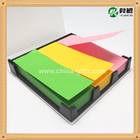 Neon paper index in PP palstic box