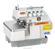High-speed overlock logo sewing machines LT-757 beautiful stitches hot sale
