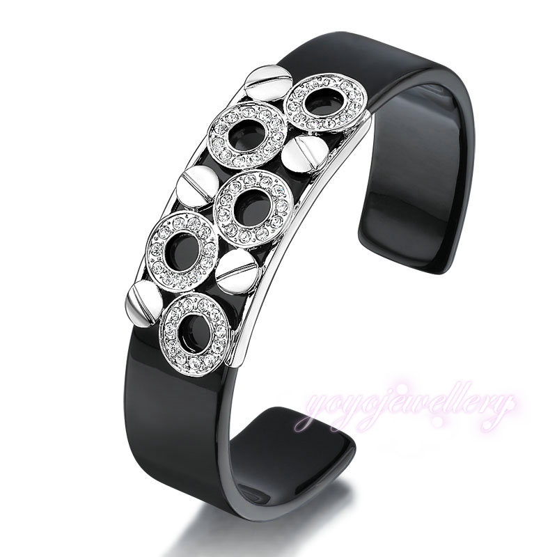 fashion jewelry china wholesale plastic 18 mm wide cuff men magnetic gold bangle
