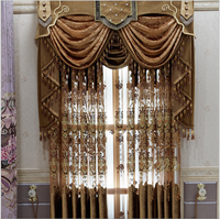 embroider curtain fabric, curtain accessory, crystal bead curtain for family room