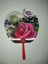 fantastic and popular 3d plastic hand fan