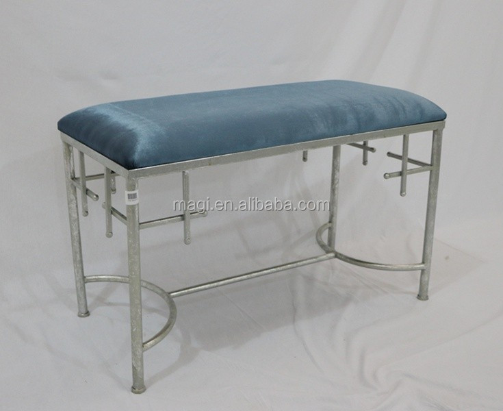 Shabby Chic Ottoman Furniture Bed Foot Stool