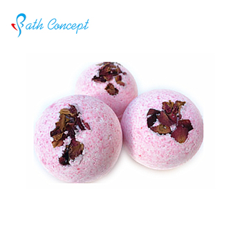 Strong Fragrance petal flower scent bath bomb