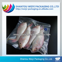 Custom printed plastic bag vacuum food sealer bags