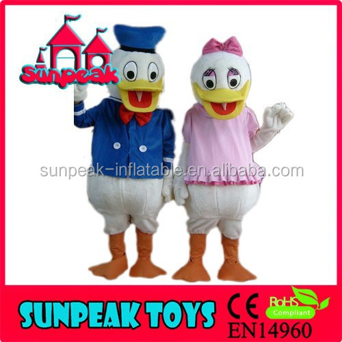M-014 2 Cartoon Character Mascot Costumes