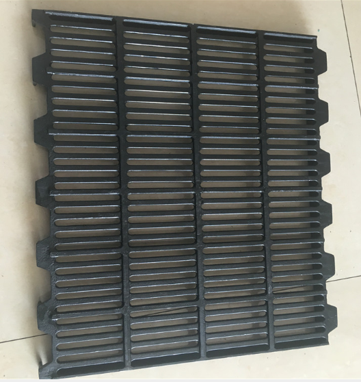 400*600mm Pig/sheep/goat cast iron slat floor for pig farrowing crate
