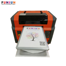 Funsunjet A3 size dx5 head 1440dpi cheap digital photo nail printer uv printer