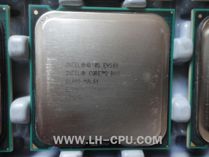 Intel Core 2 Duo Second hand CPU 2.2G 800MHZ LGA775 E4500/SLA95