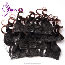 alibaba express china new products 7A best clip in hair extension