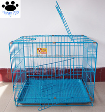 Foldable Wire Metal Folding Pet Cage Crate Dog Cage Kennel Animal Carrier
