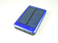 Solar Charger, Solar Power Bank 20000mAh Portable Rugged Shockproof Dual USB Solar Battery Charger